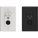 Attero Tech AXIOM ML1 2x0 Channel 1 Gang US Wall Plate with XLR Mic/Line In and 3.5mm Line Input and Analog Output
