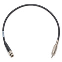 Laird B-M-15 BNC Male to 3.5mm TS Mini Genlock Cable - 15 Foot