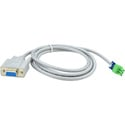 Black Box AVS-CBL-RS232 DB9 to Phoenix Adapter Cable RS-232 - 1.35 m
