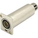 Canare BCJ-TRC-XP3F Digital Audio Impedance Transformer Panel Mount BNC- XLR(F)