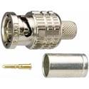 Canare BCP-B25HD 75 Ohm BNC Crimp Plug for L-2.5CHD Cable