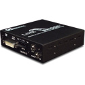 Broadata LBO-DVI-AD Link Bridge DVI w/Audio & Data Over 1 SC MM Tx/Rx System