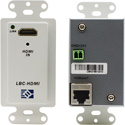 Broadata Link Bridge LBC-H-T-WP HDBaseT- HDMI Wallplate Transmitter with PoC (Up to 70m)