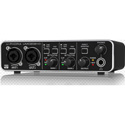 Behringer UMC202HD Audiophile 2x2 24-Bit/192 kHz USB Audio Interface with MIDAS Mic Preamps