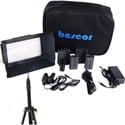 Bescor FP-312S Lighting Kit with Li-Ion batteries