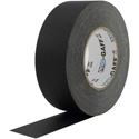 Pro Tapes BGT55-4-12 Pro Gaff Gaffers Tape BGT4-60 4 Inch x 55 Yards - Black - 12 Pack