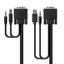 Belkin F1D9012B10 KVM Cable for KVM Switch - DVI Video/Type A USB - DVI-D Digital Video/Type B USB SKVM Cable - 10 Foot