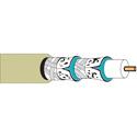 Belden 1152A Plenum Foam FEP Insulation CATV Cable Beige 1000 Foot