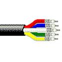 Belden 1279P 25AWG Plenum Mini Hi-Res 5 Component Video Cable - Per Foot