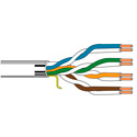 Belden 1701A Plenum Data and Voice Cable - Black - 1000 Foot