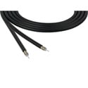 Belden 4694R 0101000 RG6 12 GHz 4K UHD 75 Ohm 18 AWG Precision Video Cable - Black - 1000 Foot