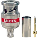 Belden 4731RBUHD3 12 GHz Mini RG-11 BNC Connector - 100 Pack