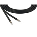 Belden 4794R 12 GHz 4K UHD 75 Ohm 16 AWG Precision Video Cable - Black - 1000 Foot