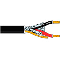 Belden 5300FE Non-Paired Beldfoil Security / Alarm Cable - Black - 1000 Foot