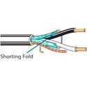 Belden 6300FE 2-Cond Plenum Shielded Security/Alarm Cable - Natural - 500 Foot Unreel
