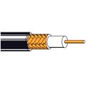 Belden New-Gen Coaxial Plenum RG6 Braided Shield Cable - Black - 1000 Foot