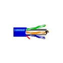 Belden 7851A 23 AWG BondedPair DataTwist 600e Cable - Orange - 1000 Foot Reel-In-A-Box
