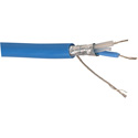 Belden 9271 RS-485/DMX512 Control Cable by the Foot (Blue)