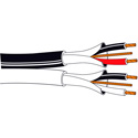 Belden 9451DP Double Twisted Pair Flamarrest 22AWG Cable - White - 1000 Foot