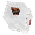 Belden AX102282 10GX Cat6A Keystone Modular Jack - White