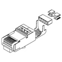 Belden CAPFCF-B25 CAT6A Shielded RJ45 Field Crimp Connector - 25-Pack