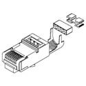 Belden CAPFCF-B25 CAT6A Shielded RJ45 Field Crimp Connector - 25-Pack