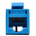 Belden RVAMJKUBL-S1 REVConnect 10GX Category 6A Connectors - Blue