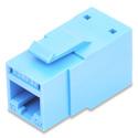 Belden RVAMJKUTB-B24 REVConnect 10GX T568 A/B UTP RJ45 Modular Jack Connector 24-Pack - TIA Blue