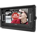 Lilliput BM150-12G-ABBP 15.6 Inch 12G-SDI & 4K HDMI Broadcast Director Monitor w/ Gold Mount Plate