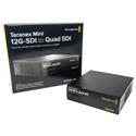 Blackmagic CONVNTRM/DB/SDIQD Teranex Mini - 12G-SDI to Quad SDI - B-Stock (Cosmetic Scratches)