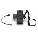 ikan BMPCC4K6KPWR-1RD-BPU Blackmagic BMPCC 4K & 6K Single Rod DV Power Kit for Sony BP-U