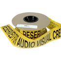 Connectronics Barricade Tape - Reserved For AV Crew