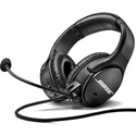 Bose SoundComm 814836-0030 B40 Headset Dual Monaural Pkg 150ohm 4pin XLR Female