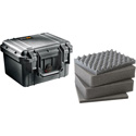 Pelican 1300WF Protector Case with Foam - Black