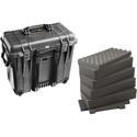 Pelican 1440WF Protector Top Loader Case with Foam - Black