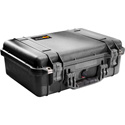 Pelican 1500WF Protector Case with Foam - Black