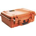 Pelican 1500NF Protector Case with No Foam - Orange