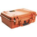 Pelican 1500WF Protector Case with Foam - Orange