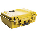 Pelican 1500NF Protector Case with No Foam - Yellow