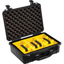 Pelican 1504 Protector Case with Padded Dividers - Black