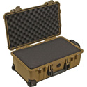 Pelican 1510WF Protector Carry-On Case with Foam - Desert Tan
