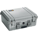 Pelican 1550WF Protector Case with Foam - Silver