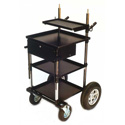 Backstage Video/Sound Transformer Cart with 8in Wheel Kit