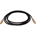 Belden Star-Quad Audio Cable RCA Male to Male 50ft- Black