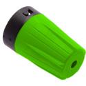 Neutrik BST-BNC-5 BNC Rear Twist Colored Boots - Green