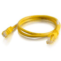 Cables To Go 27871 CAT6 Snagless Unshielded UTP Network Crossover Patch Cable - Yellow - 3 Feet