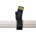 Rip-Tie CableCatch 1x4In. Black Surface Mount Hook & Loop Cable Wraps 5 Pk.