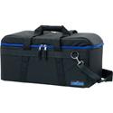 camRade CAM-CB-HD-MEDIUM-BL camBag Hard Padded Camera Bag for Camcorders up to 24.8 Inches - Medium - Black / Blue
