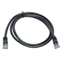 Connectronics UTP CAT5e Patch Cable 350MHz 7 Foot Black