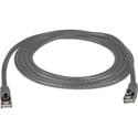 Connectronics Molded Cat6 UTP Patch Cable 24AWG 50u 3 Foot Gray